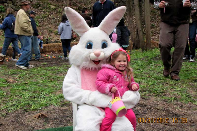 The Easter Bunny Train Ride